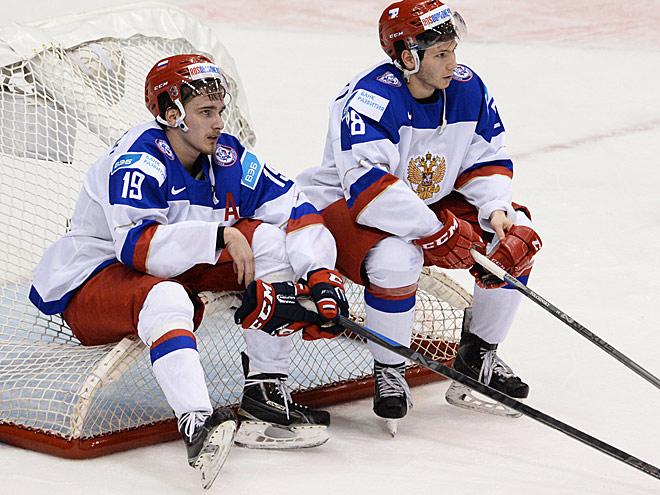 Молодежной сборной россии по хоккею