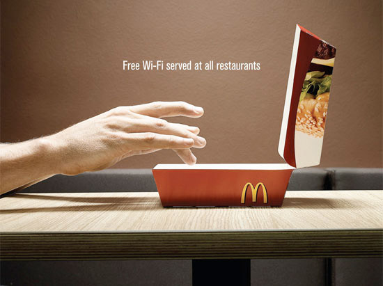 В российских ресторанах McDonald's Wi-Fi теперь только «по паспорту»