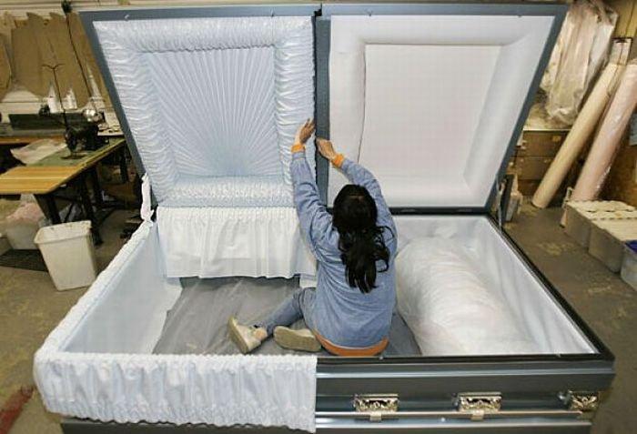 Как сделать своё в гробу