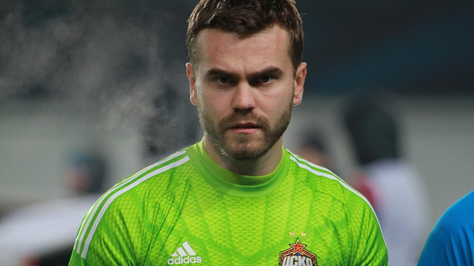 Акинфеев пропустил в 30-м матче Лиги чемпионов подряд