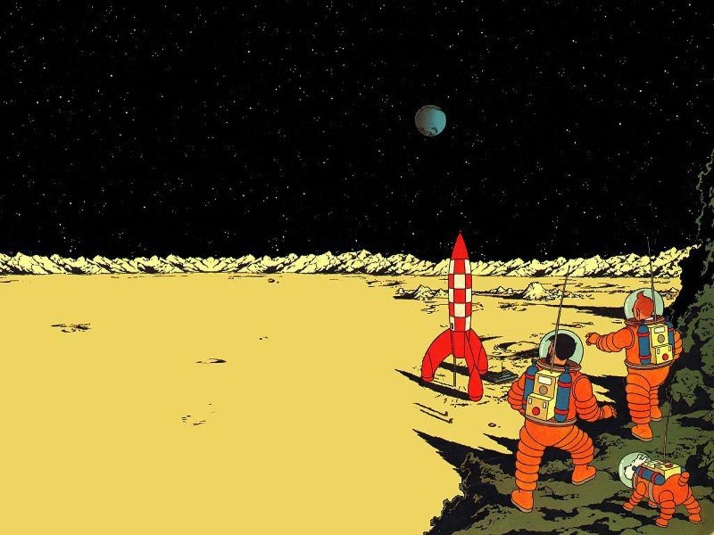 Рисунок из«Приключений Тинтина» продан за1,55млневро