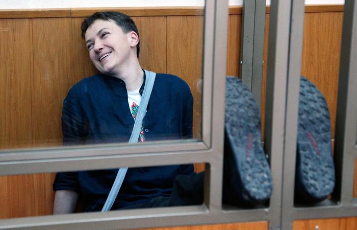 Надежда Савченко замечена всекс-оргиях спятью мужчинами— Украинское бюро WikiLeaks