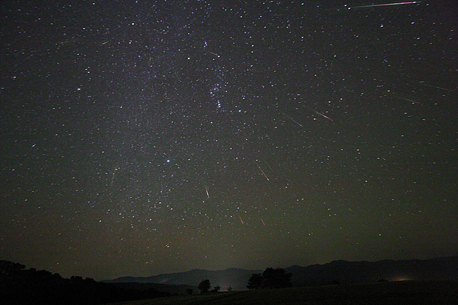 Внебе над Екатеринбургом три ночи подряд будут падать «звёзды»
