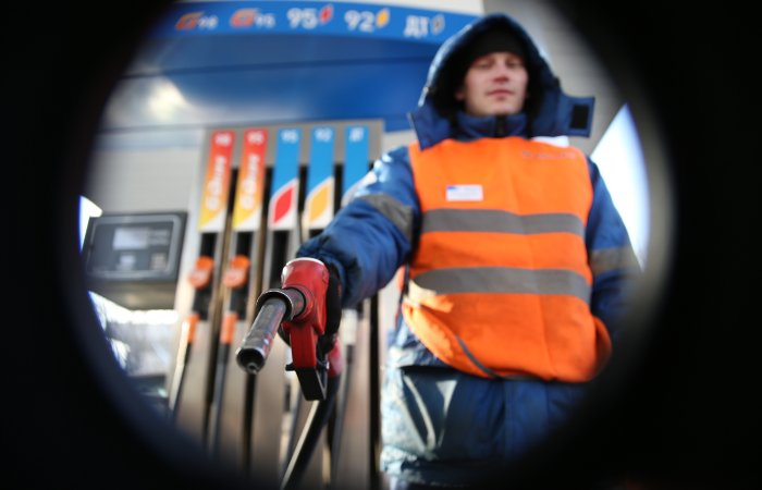 Русский бензин стал дороже, чем вСША