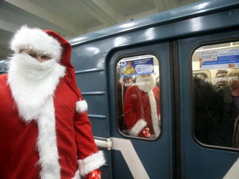 Как работало метро в новый год