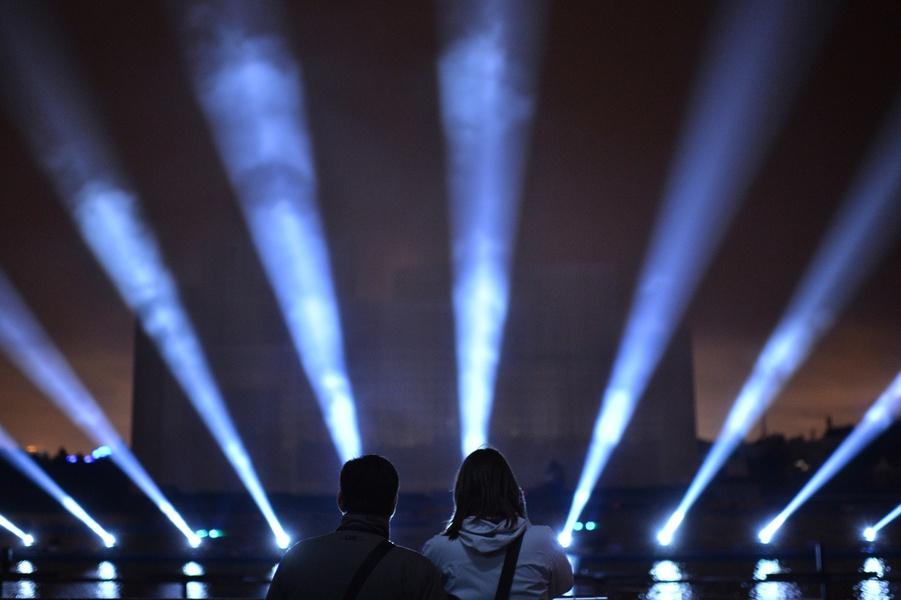 ВПетербурге пройдет Фестиваль света— колоссальное шоу