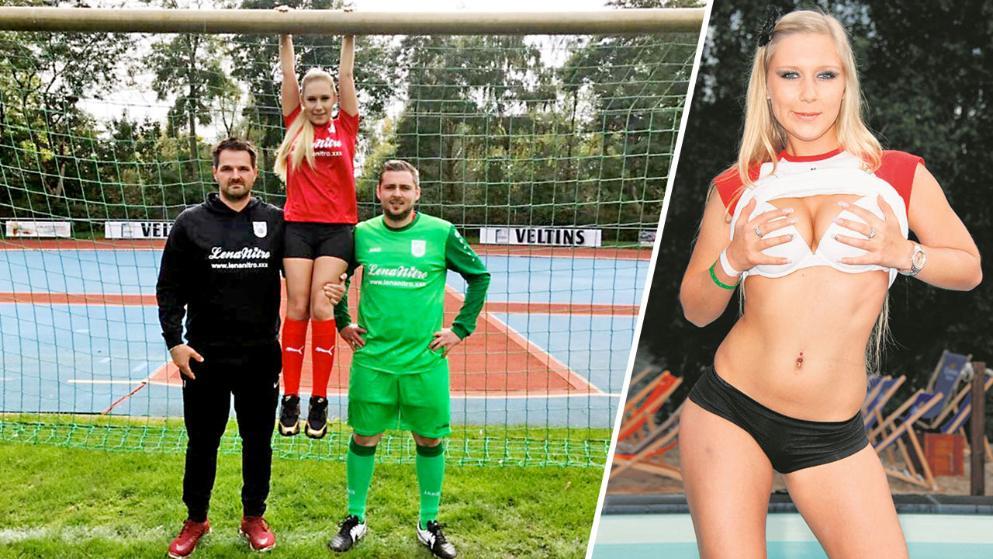 Немецкая порноактриса стала спонсором клуба шестого дивизиона Германии