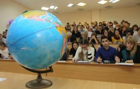 Географический диктант прошел в26 государствах