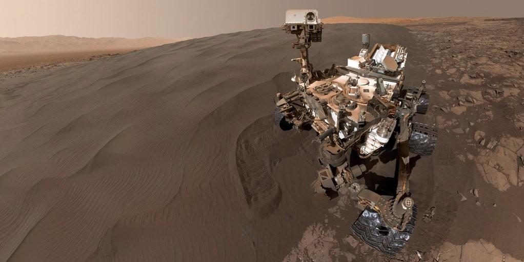 Curiosity сделал новое селфи наМарсе