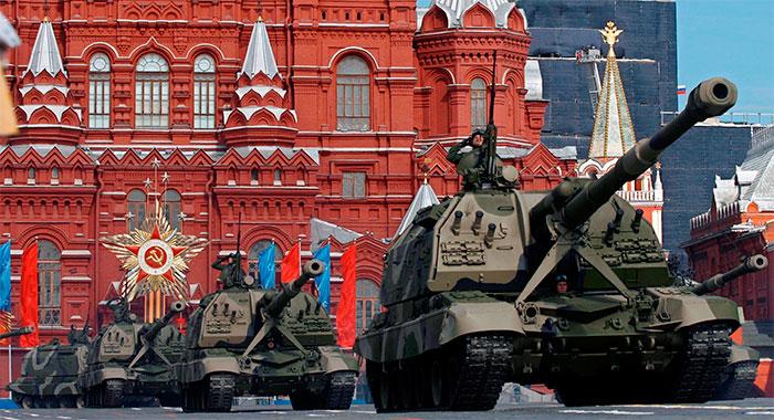 Порядок движения военной техники в ходе парада Победы в 2016 году в Москве