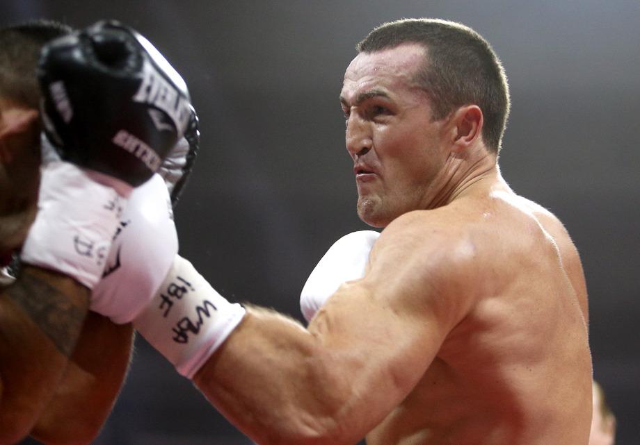 Российский боксер Лебедев объединил два титула чемпиона мира попрестижным версиям