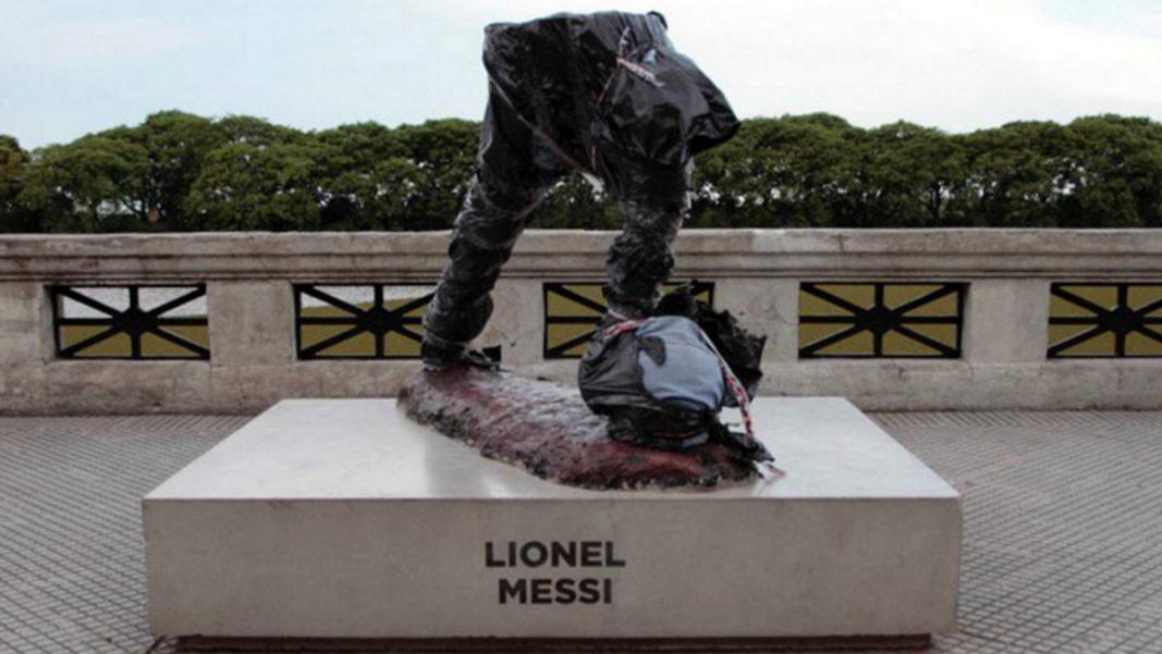 ВБуэнос-Айресе украли «половину Месси»