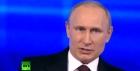 Владимир Путин начал «Прямую линию»