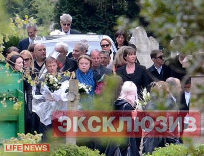фото похороны березовского