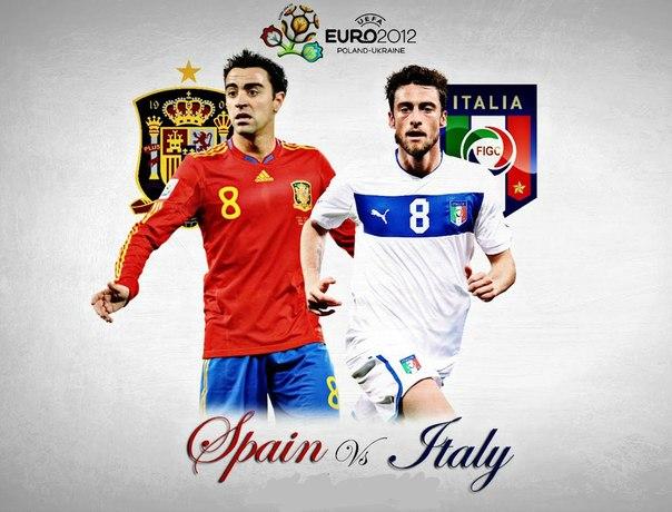 Прямая трансляция футбола испания италия