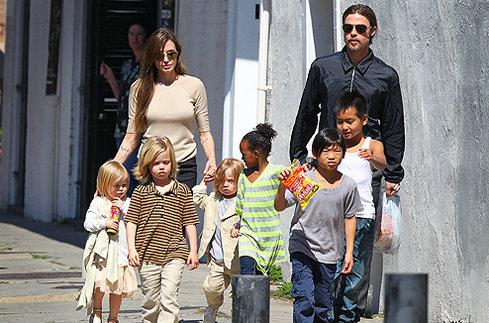 Jolie-pitt kids • дети джоли и питта | ВКонтакте