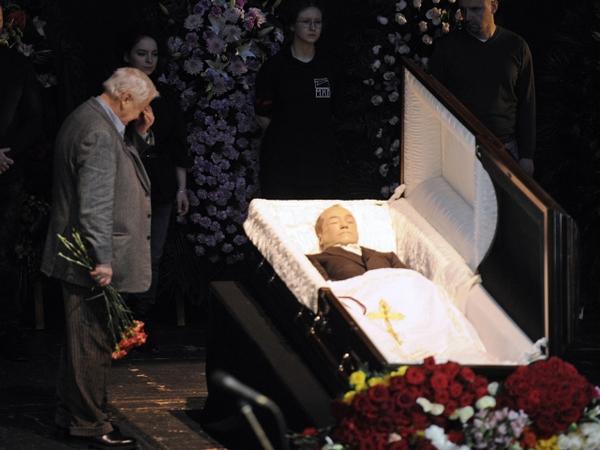 Николай мозговой похороны