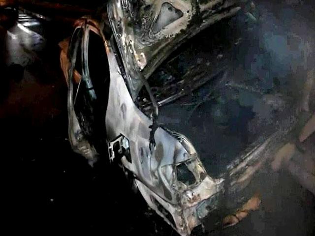 Очевидцы три авто столкнулись на Каширском шоссе