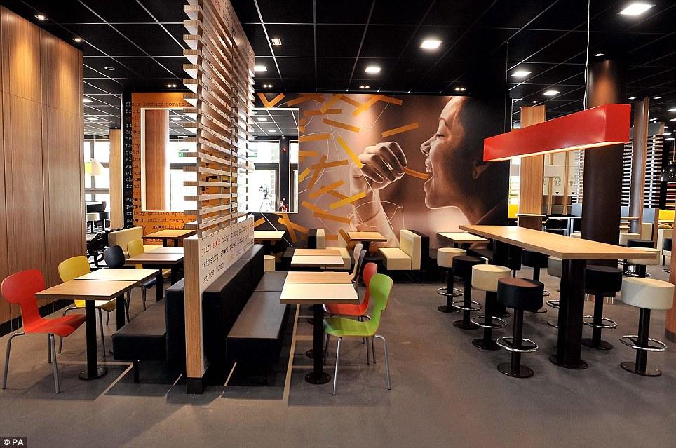 К Олимпиаде в Лондоне откроют самый большой в мире McDonald's