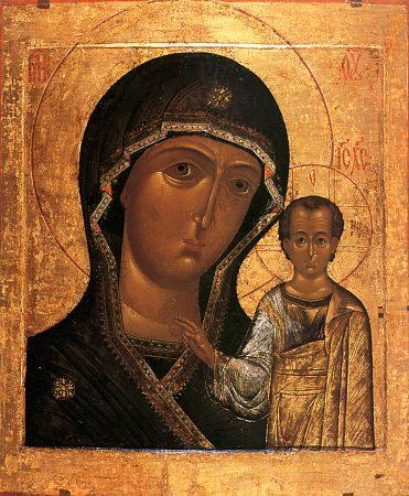 Праздник Казанской иконы Божией Матери.