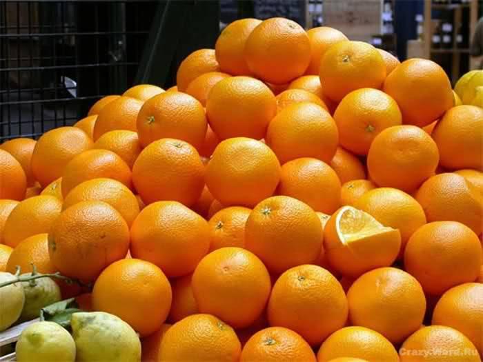 Африканские апельсины поступили с нарушениями